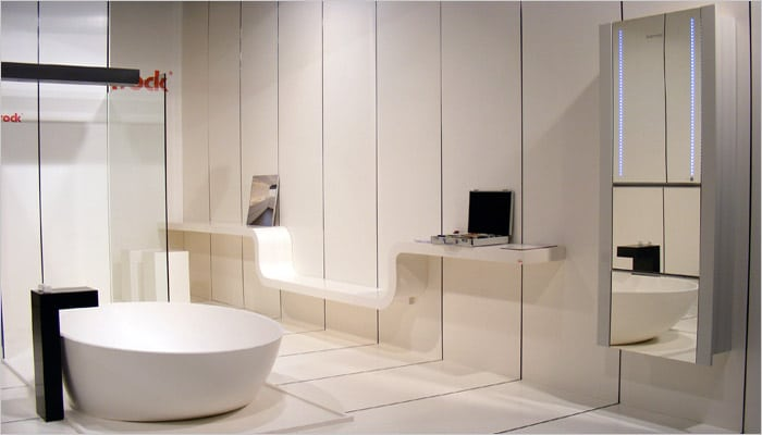 Badkamermeubel Met Badkameraccessoires : Design badkamers voorbeelden inspiratie fotos design badkamer