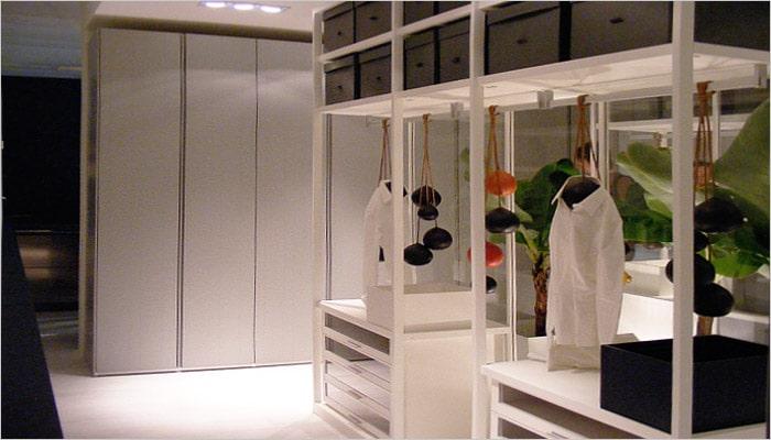 Dressing interieur voorbeelden en foto s voor dressing ideeën