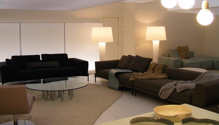 Design woonkamers inrichting foto\'s en voorbeelden