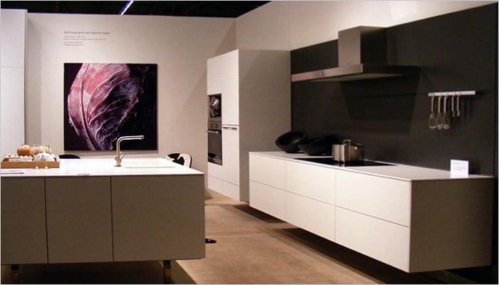 Design bulthaup keuken met vierkant keukeneiland