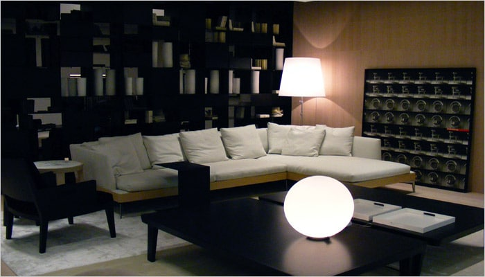 Moderne woonkamer foto 39 s en woonkamers ideeen - Moderne bibliotheek ...