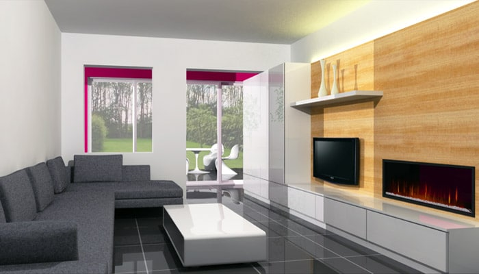 Moderne woonkamer foto 39 s en woonkamers ideeen - Moderne keuken en woonkamer ...