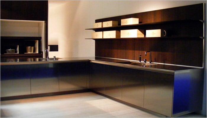 Inox Design Keukens : Inox design keukens u artsmedia