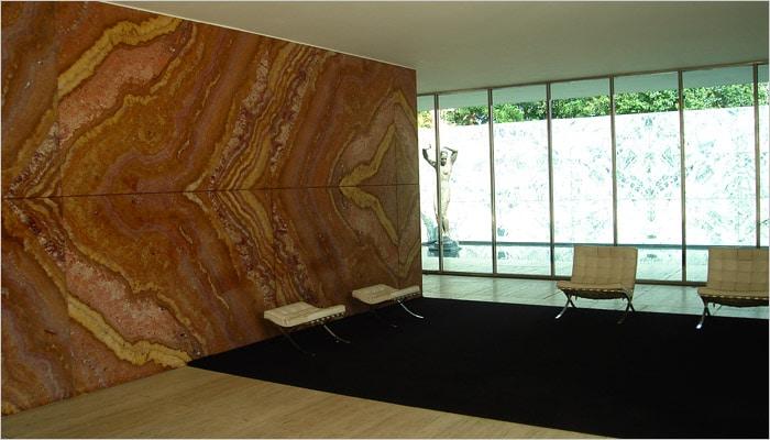 Barcelona paviljoen barcelona Mies Van Der Rohe