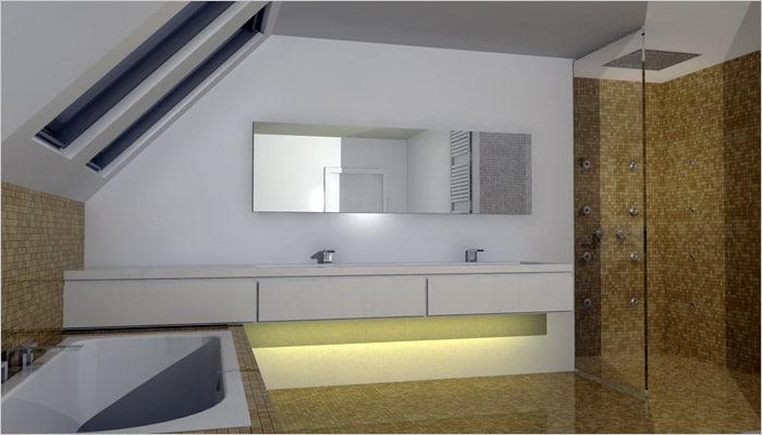 Design badkamers voorbeelden inspiratie foto 39 s design badkamer for Badkamer design