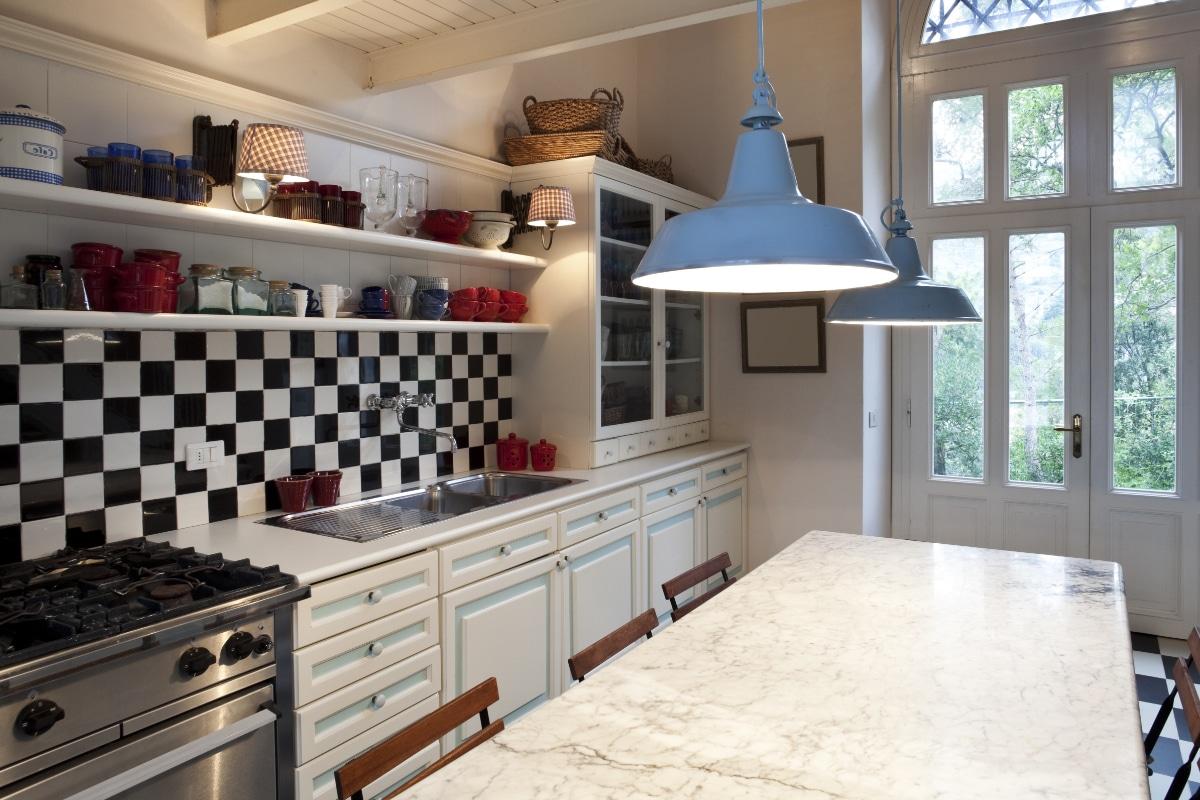 Industrieel Keuken Tegels : Achterwand keuken voorbeelden materialen inspiratie