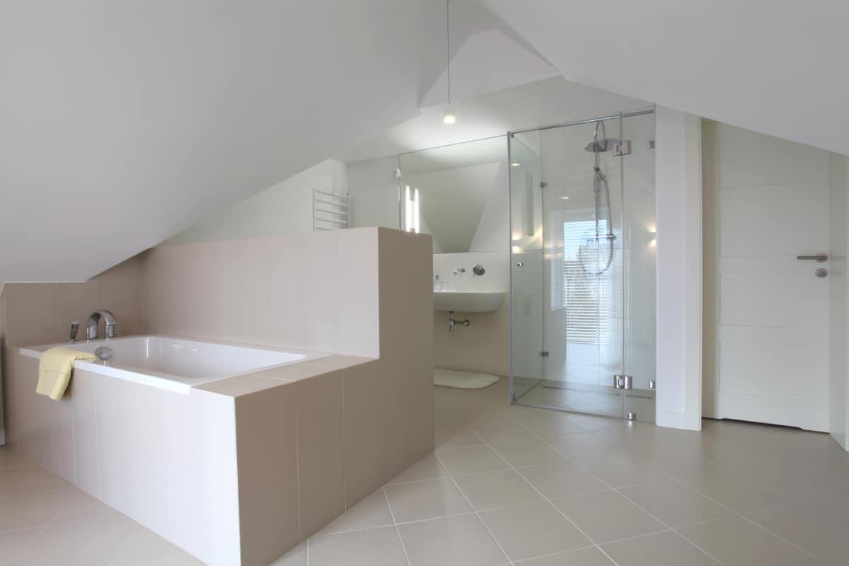 badkamerrenovatie op zolder
