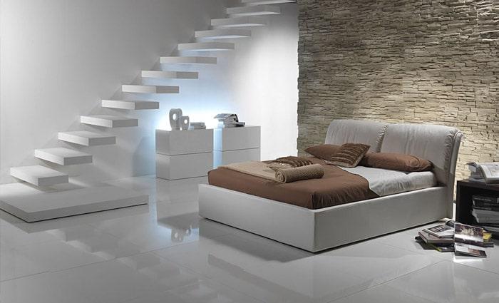 Design slaapkamer voorbeelden inspiratie foto 39 s van moderne slaapkamers - Witte kamer en fushia ...