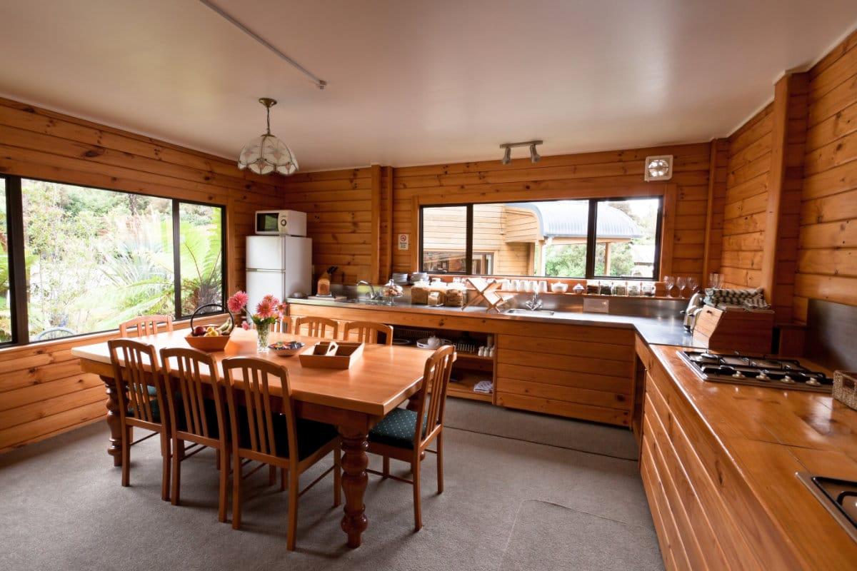houten keuken landelijk