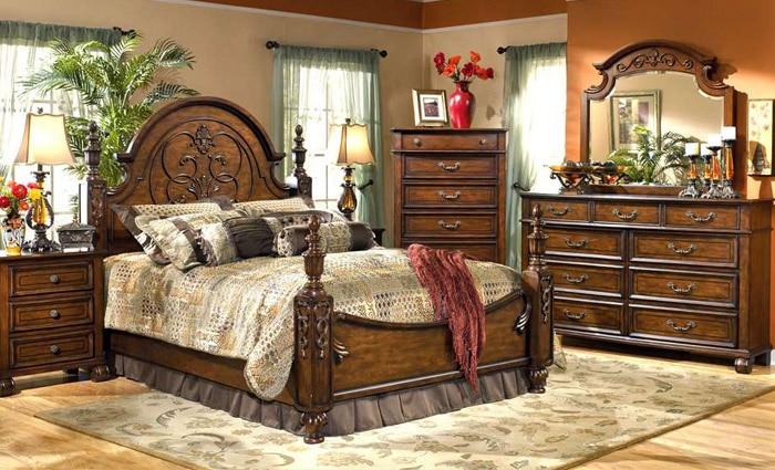 slaapkamerinrichting in klassieke stijl