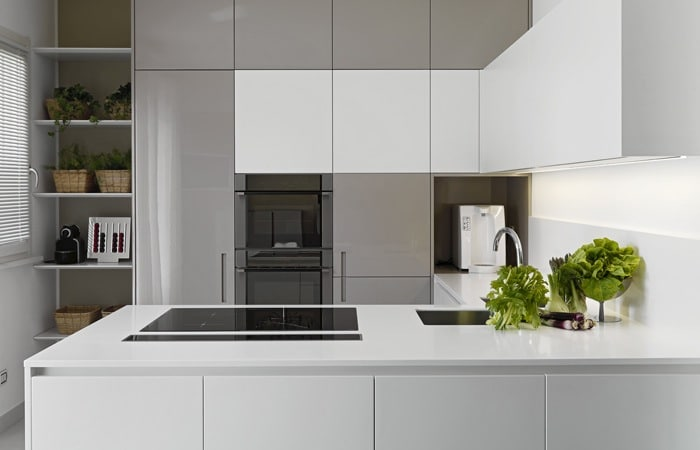 Kookeiland met spoelbak en kookplaat home design idee n en meubilair inspiraties for Kleine keukens fotos