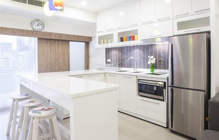 Keuken Kleine Kleur : Kleine keukens foto s inspiratie voorbeelden