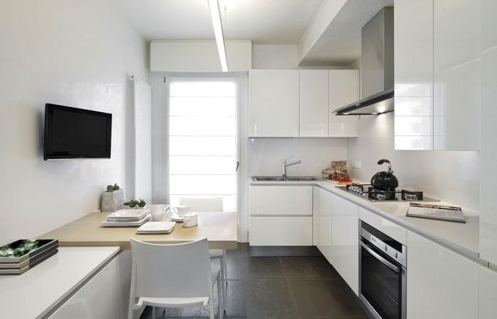Kleine keukens foto 39 s inspiratie voorbeelden - Keuken kleine ruimte ...