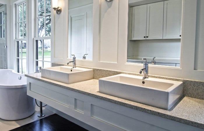 Landelijke badkamermeubels tips inspiratie fotospecial for Inrichting landelijk modern