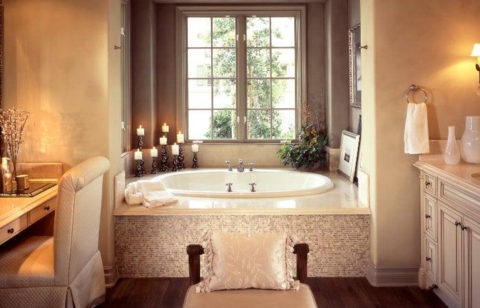 luxe landelijke badkamermeubels