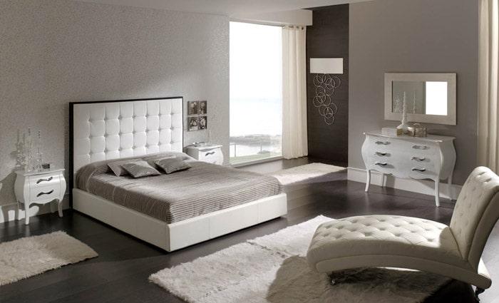 witte slaapkamer inrichting