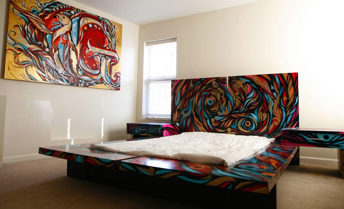 Originele slaapkamer voorbeelden inspiratie foto s van leuke