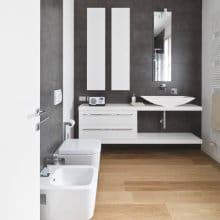 Badkamervloer plaatsen: mogelijke materialen | Interieurvoorbeelden.be