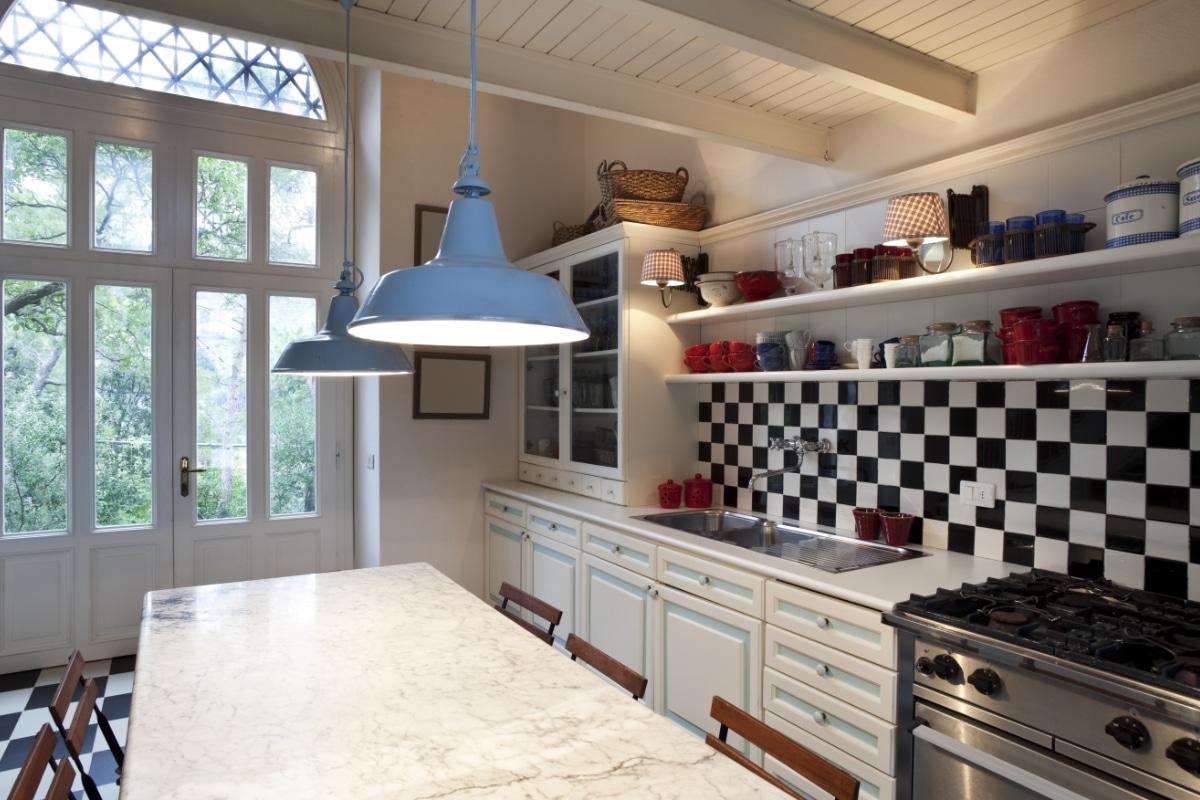 retro tegels in keuken