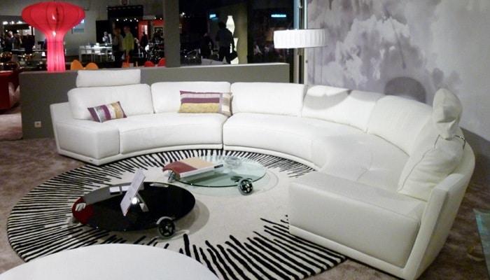 Ronde salon Roche bobois