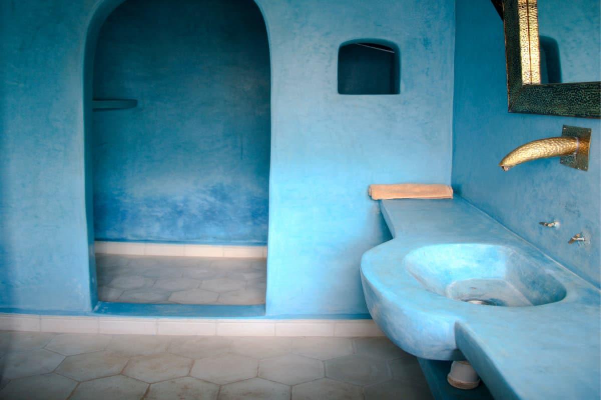 wandbekleding badkamer overzicht van materialen