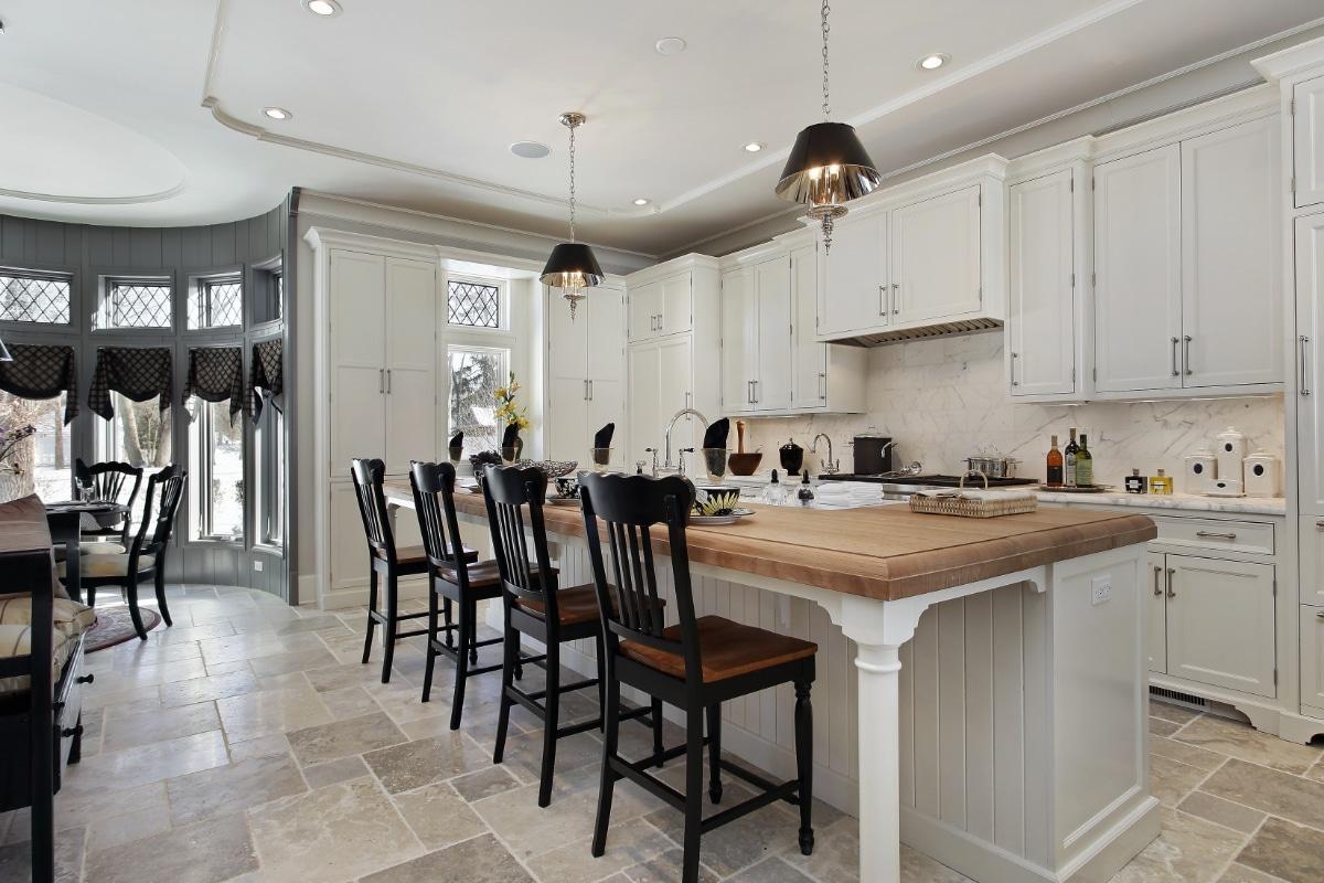 wandtegels keuken in cottage stijl