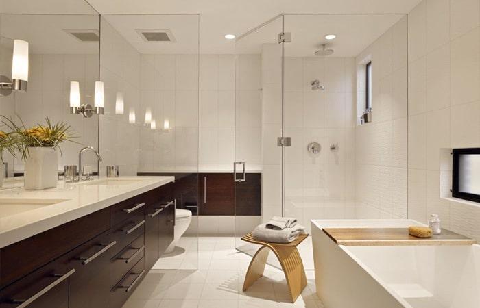 tegels badkamer: inspiratie & voorbeelden badkamertegels toepassen, Badkamer
